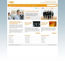 'Orange Streak' Web Site Desig by RUGRLN