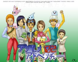 Digimon02 :: Go team go by rhythmic-high