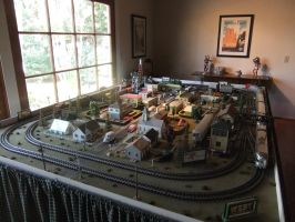 O Scale Layout Overview 2 by SouthwestChief