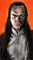 Copic LotR  - Elrond by Seyreene
