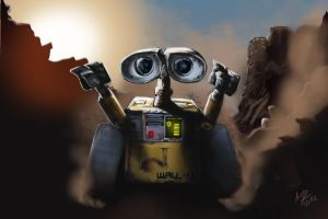 Wall-E trash run by ArotzarenaARTs