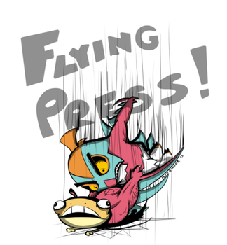 Hawlucha - Flying Press! by BitBallet