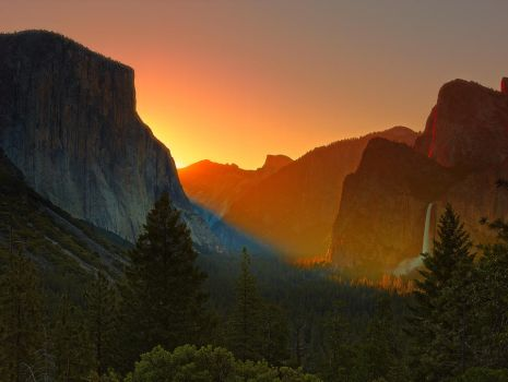 Tunnel View by coulombic