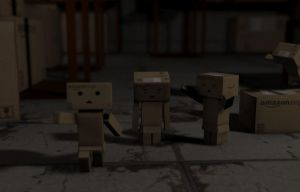 Danbo Warehouse Race by PolyAce