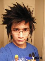 Final Fantasy Hairstyle by sonicJKevin