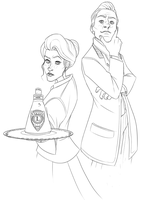 BIOSHOCK INFINITE - Rosalind and Robert Lutece by felitomkinson