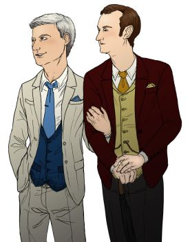 Mystrade Suits by ThundersCry