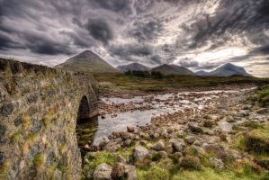 Glen Sligachan, Cuillins by Spyder-art