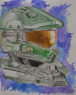 Master Chief by Artistic-Imagery