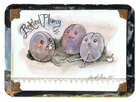 Pickled Plums by miorats