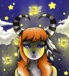 Lady Coral and the Fireflies by THesla