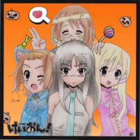 Happy Halloween K-on by Wiicky