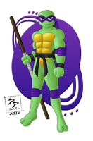 Donatello Does Machines by CyborgBeefJerky