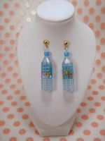 Candy Color Cola San X Bear Earrings by PoniesOfDOOOM