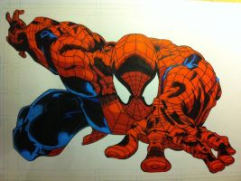 Spiderman 1 Colored by Stryker224