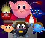 A Quintet of Kirbies with Kirby for Kirby by MartmeisterPaladin