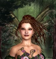 Queen of Ereth Forest by Kath-13