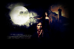 Damon + Elena - Bleed for you by ParalyzingLove