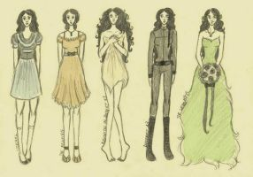 THG: Annie Cresta: Fashion by xxIgnisxx