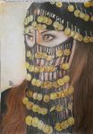 badawian woman by islammostafa