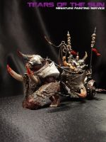 Warriors of Chaos Chariot by DeathShadowSun