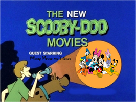 Scooby-Doo meets Mickey Mouse and Friends by MarcosLucky96