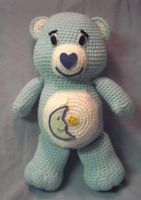 Crochet Bedtime Bear by JLMacDonald