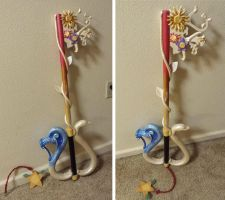 Destiny's Embrace (Kairi's Keyblade) Commission by Sirus-XIII