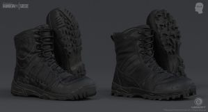 Rainbow Six Siege Cinematic SWAT - Boots 1 by mabdelfatah