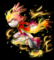 Burning Blaze Hyper Mode by Unichrome-uni
