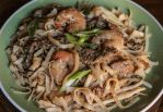 Beef and Shrimp Pad Thai by Kitteh-Pawz