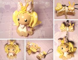 Panya Usagi - Cellphone Strap by xRcks