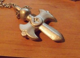 Fairy Tail- Gray's necklace by chipface-zero