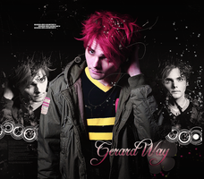 +Gerard Way Wallpaper by EndOfTheStory