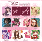 2012 Summary of Art... by drawingum