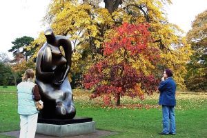 Moore Mother And Child At Kew by aegiandyad