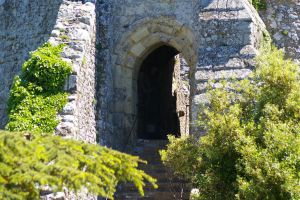 Castle Walls and Gate by Eiande