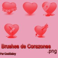Brushes de Corazones by CoolSabry