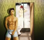 Sweet Desires In The Bathroom by Mangadark