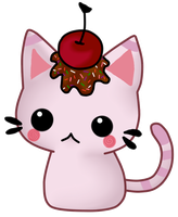 Cherry Kitty by Chokoretto17