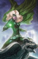 Stephanie Brown: Green Lantern by MaidenMarvel