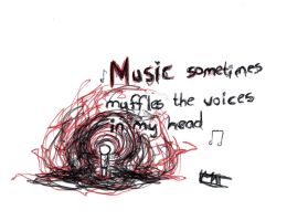 Muffled voices by Matthew-Law