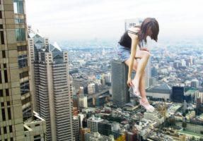 Mega Giantess by Ikaro01