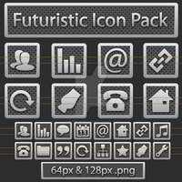 Futuristic Website Icons by FifteenCentIcons