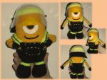 Firefighter Minion by Faliona