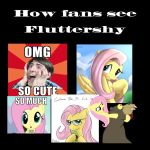 How Fluttershy fans see Fluttershy by DallyDog101