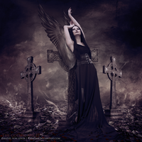 The gothic angel by RazielMB