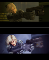 screencap redraw: Raiden by hyappers