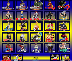 Kodansha Breakers Roster (Complete) by TheTalon34