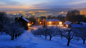 Lier valley in December by francis1ari
